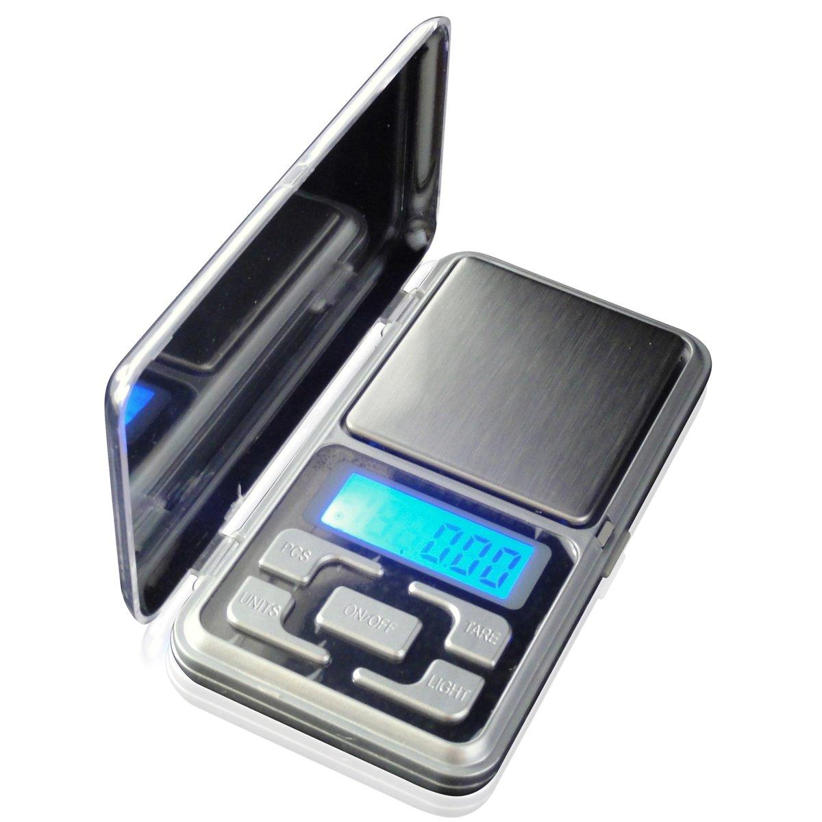 LUPO Bilance Tascabili - Digital 500 g x 0, 1 g - Display LCD Retroilluminato Elettronico per Gioielli in Oro LUPO SV0008