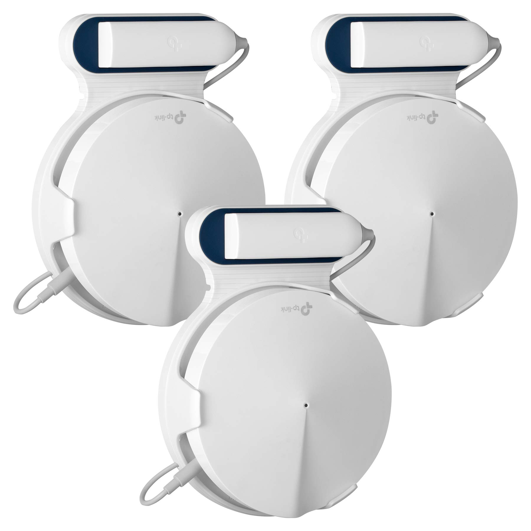 STANSTAR Wall Mount for TP-Link Deco M9 Plus Home Mesh WiFi System, Sturdy Brackets, Easy Moved, Space Saving,Without Messy Wires and Screws(3 Pack) by STANSTAR