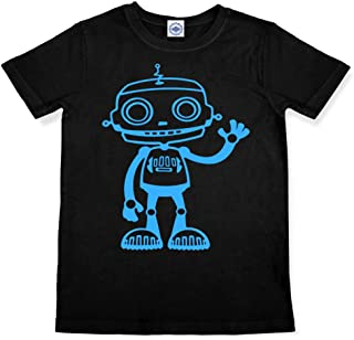 product image for Hank Player U.S.A. Big Robot Kid's T-Shirt