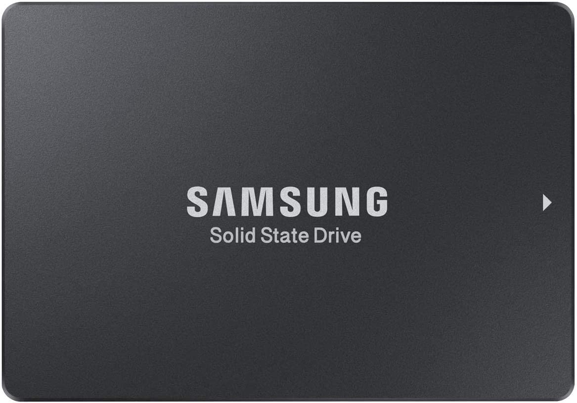 """SAMSUNG 883 DCT Series SSD 3.84TB - SATA 2.5"""" 7mm Interface Internal Solid State Drive with V-NAND Technology for Business (MZ-7LH3T8NE), Black"""