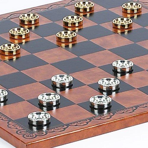割引価格 Bello Bella Games Bello Collezioni – Georgio Checkers Board – & Bella Valentina Checkersからイタリア B00486X8XS, ファーマン:43d89a56 --- irlandskayaliteratura.org
