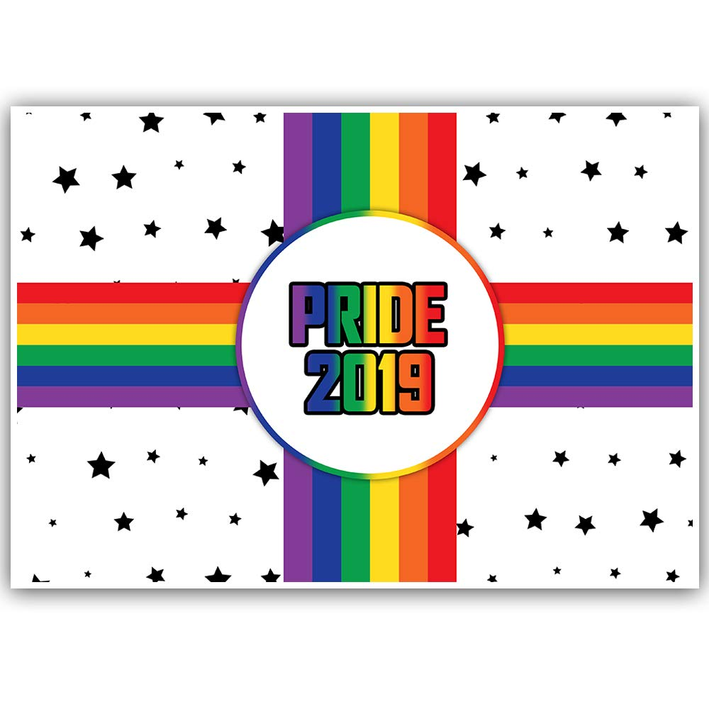 Gay Pride Rainbows and Stars Banner Personalized Decoration