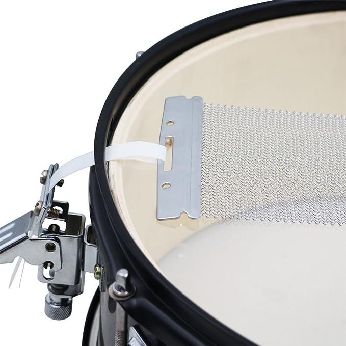 ammoon Stahl Snare Draht 40 Strang-Trommel-Feder für 14 Zoll Snare ...