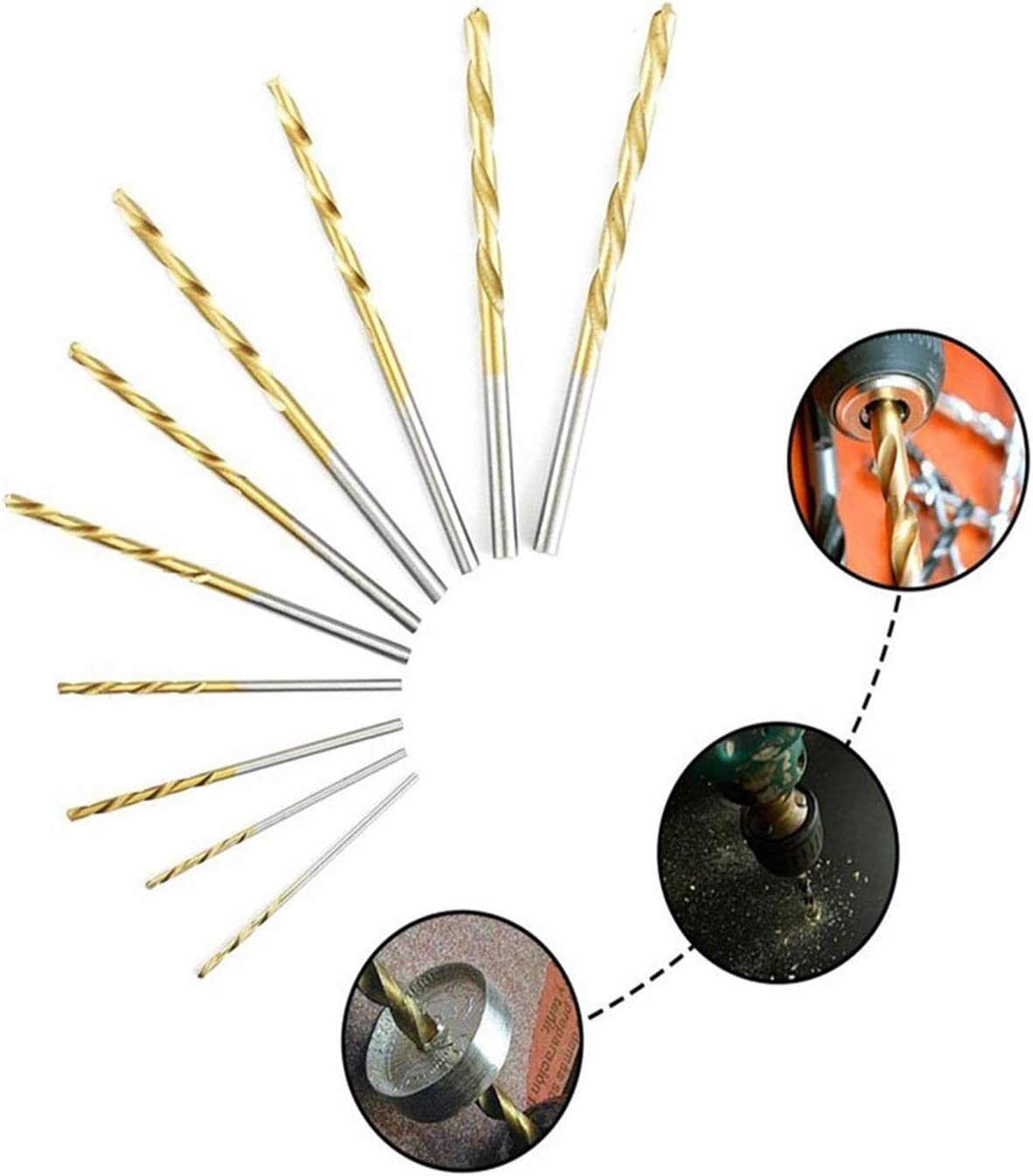 xiaoying Many Kinds of high Speed Steel Titanium Coated Twist Drill bit Straight Shank bit Hand Drill