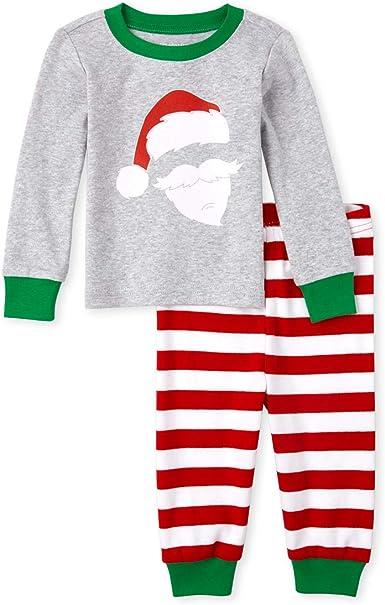 The Childrens Place Baby Boys Christmas Pajama Set