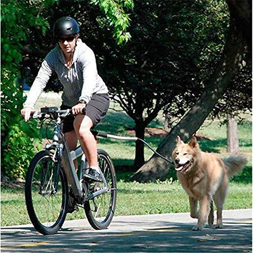 Best Quality hoopet Dog Bicycle/Bike Exerciser Leash Attachment Distance Keeper Hands Free Dog Training Trotter Jogger Dog Control