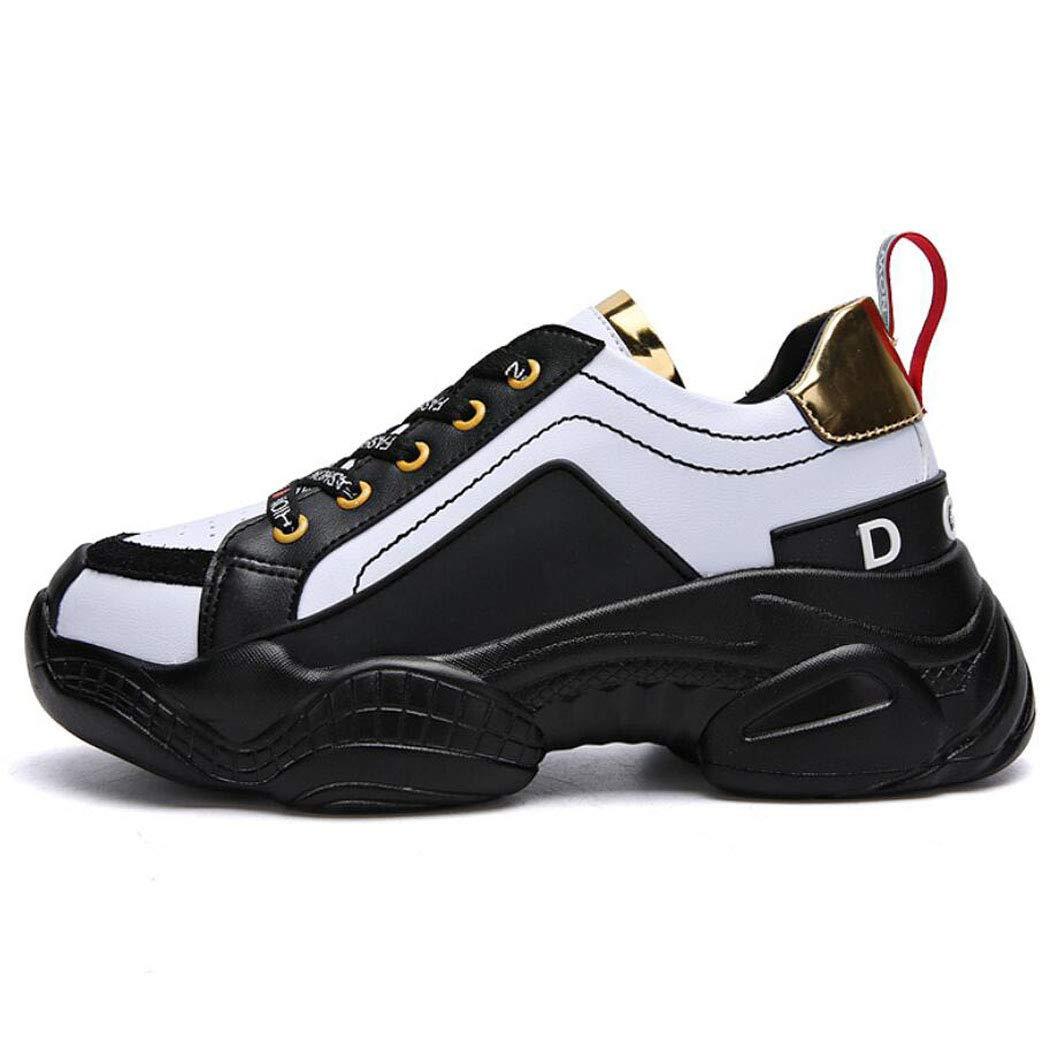 ZIXUAP donna scarpe da ginnastica, Moda da Uomo Atletico Tennis Scarpe da Corsa Cuscino d'Aria Confortevole Gym scarpe da ginnastica,C,38