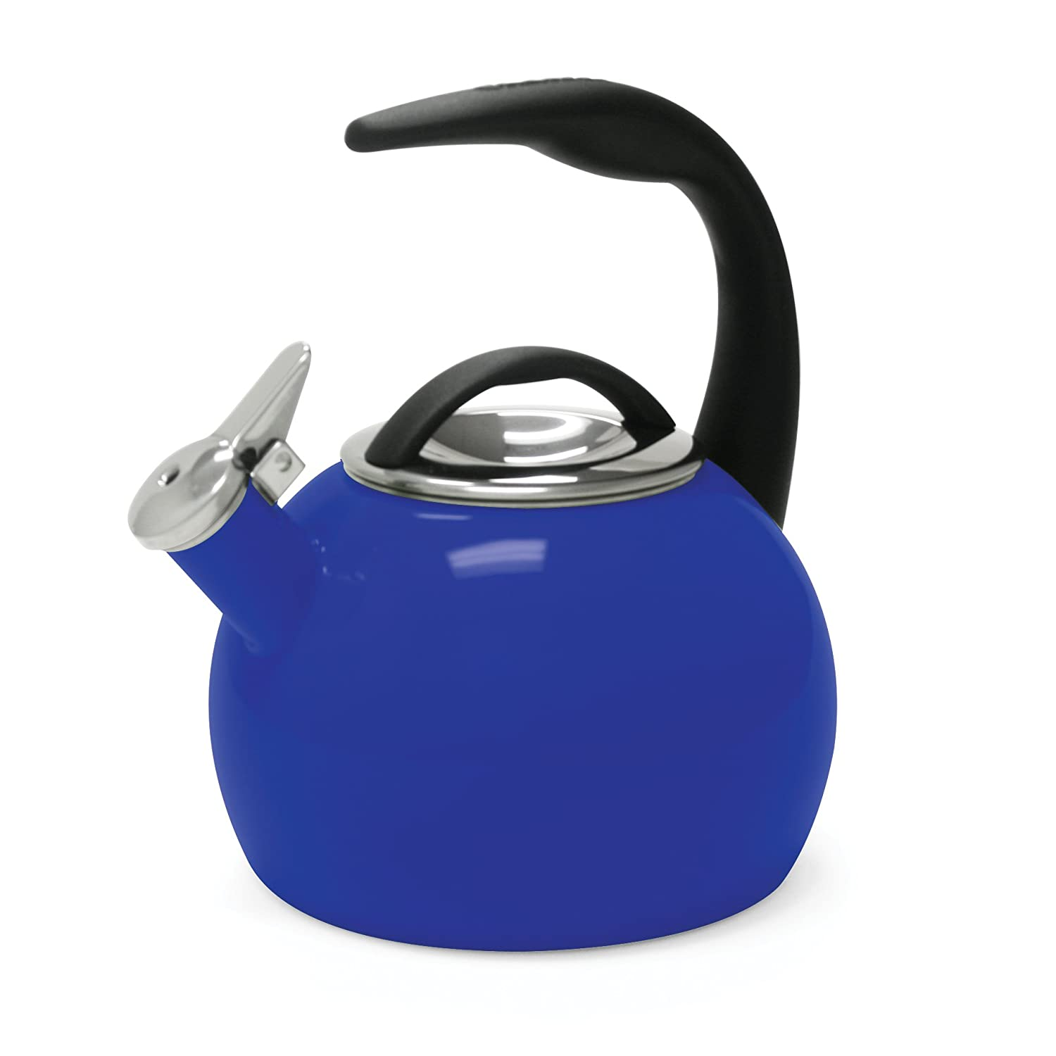 amazoncom chantal th anniversary quart enamel on steel  - amazoncom chantal th anniversary quart enamel on steel teakettleorange chantal tea kettle kitchen  dining