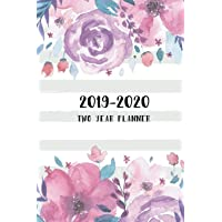 2019-2020 Two Year Planner: Floral Cover, 24 Month Calendar Planner, Two Year Monthly Planner, Agenda Planner and Schedule Organizer, Journal Planner Personal Management Record, Self-Help Time Management, Notes, U.S. Holidays (2 Year Calendar Logbook Diary Notebook) (Volume 6)