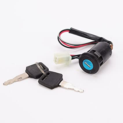Amazoncom Iztoss Motorcycle Ignition Switch Lock Key Suzuki Atv
