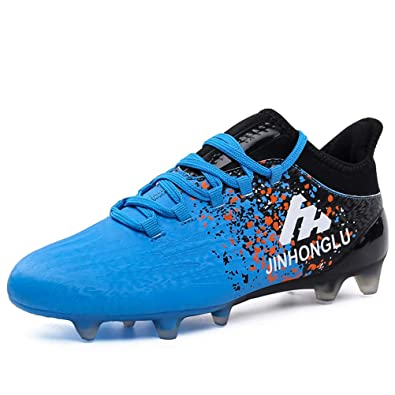 7c2d81aa4 XiXiHao Soccer Shoes AG Outdoor Professional Football Boots Mens Children  Boys
