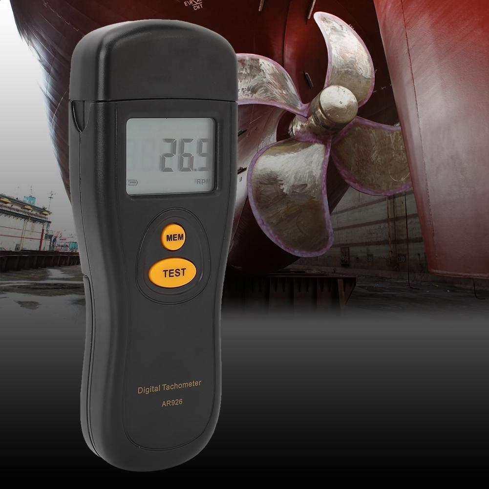 SMART SENSOR AR926 Contagiri digitale senza contatto nero tachimetro con contachilometri digitale