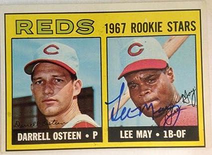 Autographs-original Sports Mem, Cards & Fan Shop Lee May Autographed 1974 Topps #500