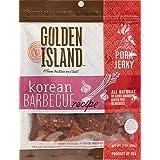 Golden Island Fire Grilled Pork Jerky Korean Barbecue Receipe - 16 Oz