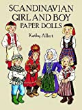 Front cover for the book Scandinavian Girl and Boy Paper Dolls by Kathy Allert