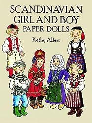 Scandinavian Girl and Boy Paper Dolls (Dover Paper Dolls)