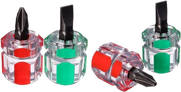 CCCYMM - 4 puntas de destornillador magnéticas antideslizantes ...