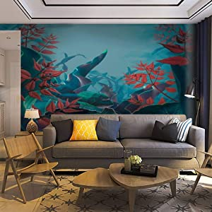 Wallpaper Wall Mural Fairy Garden in myst rain Forest Stock Pictures Royalty Free Photos Self Adhesive Removable Peel & Stick Wall Decor Home Craft Wall Decal Wall Poster Sticker for Living Room