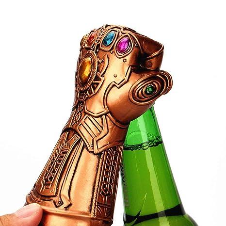 KOBWA Abridor de Botellas de Cerveza, Personalidad Creativa, abridor de Botellas de Cerveza Thanos