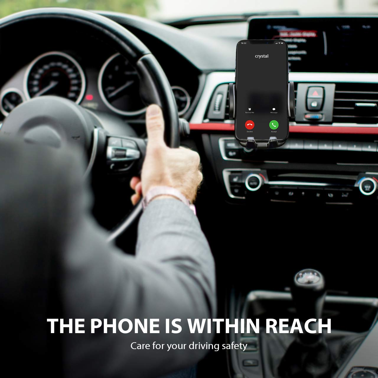 Galaxy S7//S8//S9 Air Vent Phone Holder for Car with Adjustable Car Phone Holder Cradle Compatible iPhone Xs//XS MAX//XR//X//8//8Plus//7//7Plus//6s Huawei and More MPCA040AB-PTX-2 Google Nexus Mpow 040 Car Phone Mount