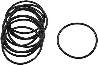 sourcingmap® Dieci Pz nero olio gomma guarnizione O ring con guarnizioni tenuta 29mm x 26mm x 1.5mm