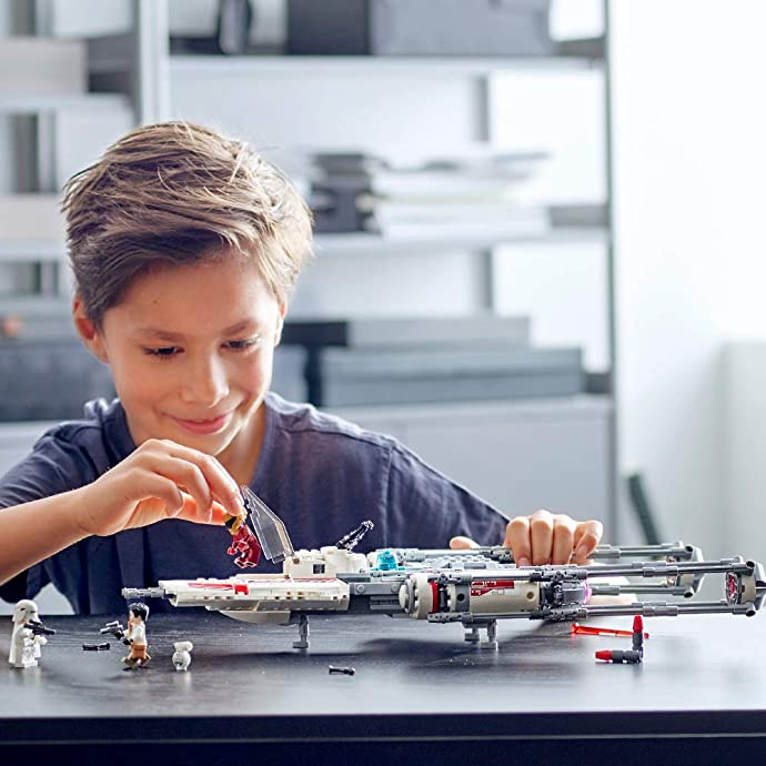 LEGO 乐高 星球大战系列 75249 抵抗组织 Y翼星际战斗机 积木玩具 8折$56 海淘转运到手约¥444