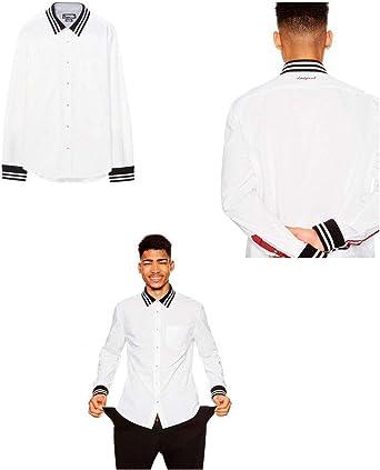 Desigual Camisa Hobre Andrew Talla XL: Amazon.es: Ropa y ...