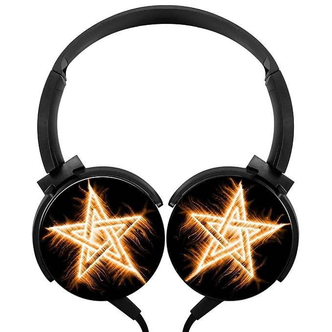 POJIA StarStereo - Auriculares de Diadema con Cable de Graves ...