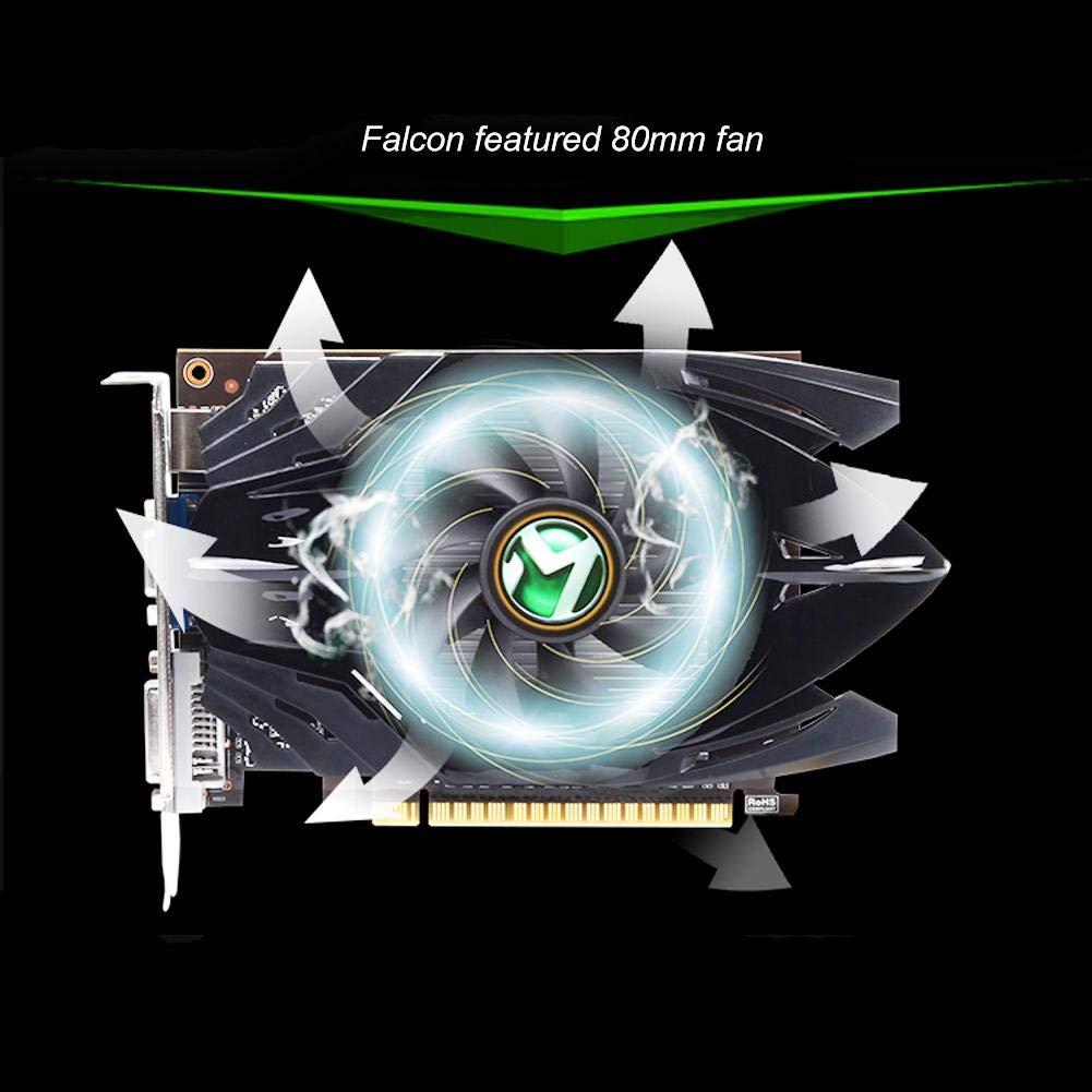 asipr Ópera MAXSUN gt710 Plus 2 G 64bit GDDR3 Tarjeta ...