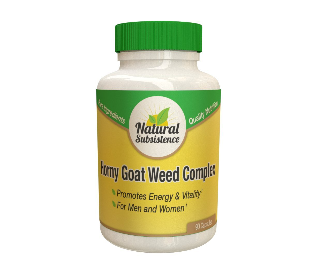 Horny Goat Weed Complex - 90 Capsules. Clinically proven ingredients for up to 600% more effectiveness (1)