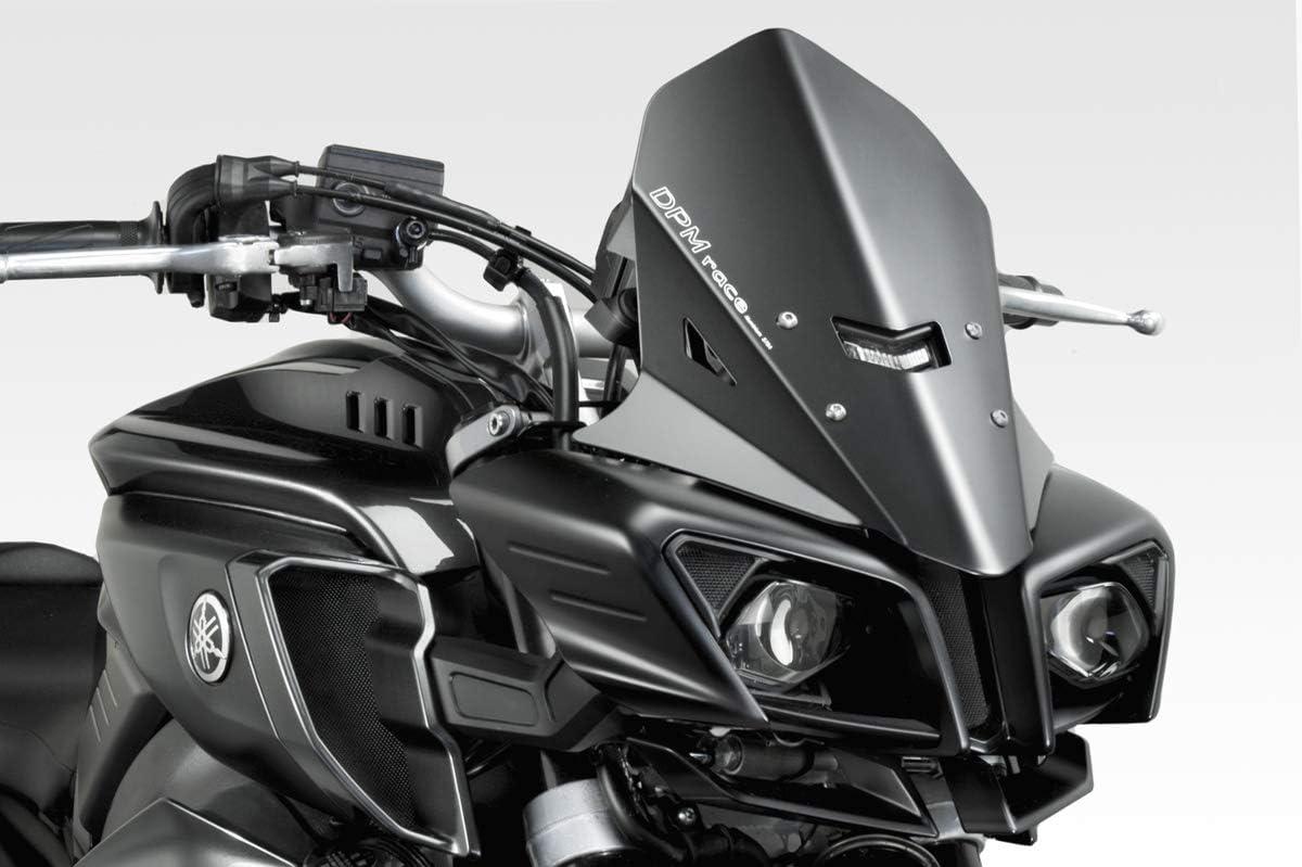 MT 10 2015//19 DPM Race R-0760B - Protection Saut de Vent en Aluminium Visserie Incluses Accessoires De Pretto Moto - 100/% Made in Italy Pare Brise Warrior