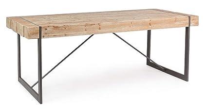 Table Bois de 90 PEGANE 200 de Sapin en DimL P Repas x 4RjAq35L