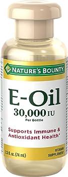 Nature's Bounty Natural Vitamin E-Oil 30,000 IU 2.5 Oz (Topical or Oral)