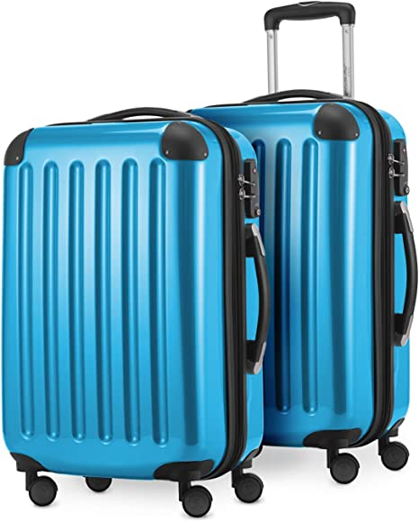 42 L HAUPTSTADTKOFFER  Bagages cabine Bleu 55 cm