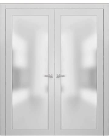 Inch Interior French Doors Frosted Gl on