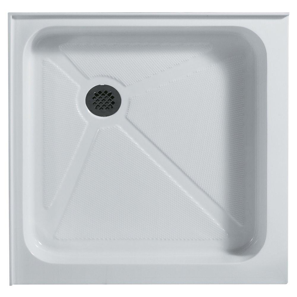 hot sale VIGO 32 x 32-in. Square Shower Base, White