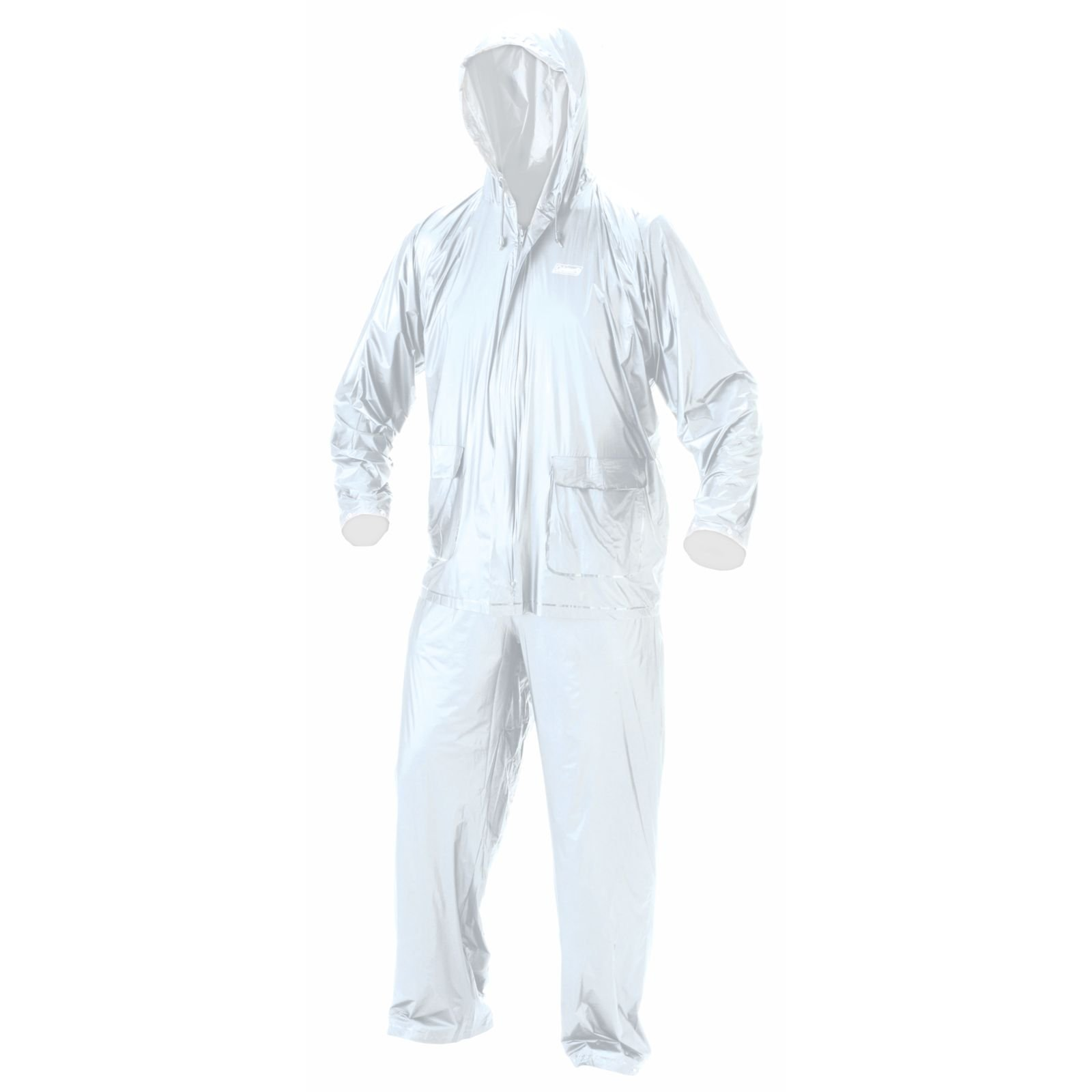 Coleman 10 mm PVC Rain Suit, Clear, Small
