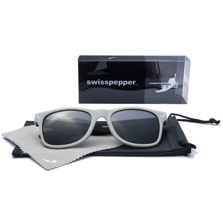 Amazon.com: swisspepper anteojos de sol polarizadas para ...