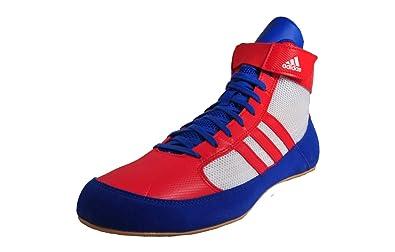 promo code 2c46e baf6f Adidas Havoc Wrestling Boxing New Red White Blue (UK 10.5)