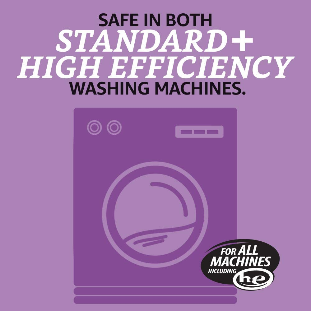 Brand - Solimo Concentrated Liquid Laundry Detergent, Lavender, 128 loads, 96 Fl Oz: Health & Personal Care