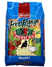Peters Poultry Grains 20kg Free Range Formula Chicken Chook Food Feed Animal