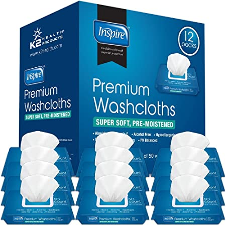 Adult Wet Wipes Adult Wash Cloths Extra Large, Adult Wipes for Incontinence & Cleansing, 8