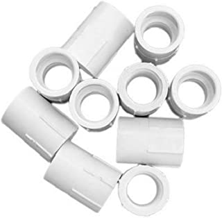 product image for Genova Products 30305CP 1/2-Inch Female Iron Pipe Thread PVC Pipe Adapter Slip by Female Iron Pipe Thread - 10 Pack