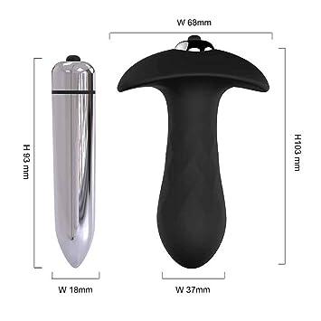 Jasinwins Sex Toysworld Silicone Anal Vibrator Prostate Men Anus Adult  Waterproof Sex Toys for Women Vibrating Anal