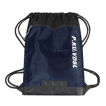 P.KU.VDSL Drawstring Backpack, Drawstring Bag, Unisex Gymsack Gym Bag  Rucksack fb2b9ec784