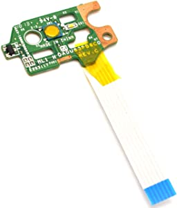 Deal4GO Replacement ON Off Power Switch Button Board w/Ribbon Cable for HP Pavilion 15-N 14-N 15-F N211DX DA0U83PB6E0 732076-001