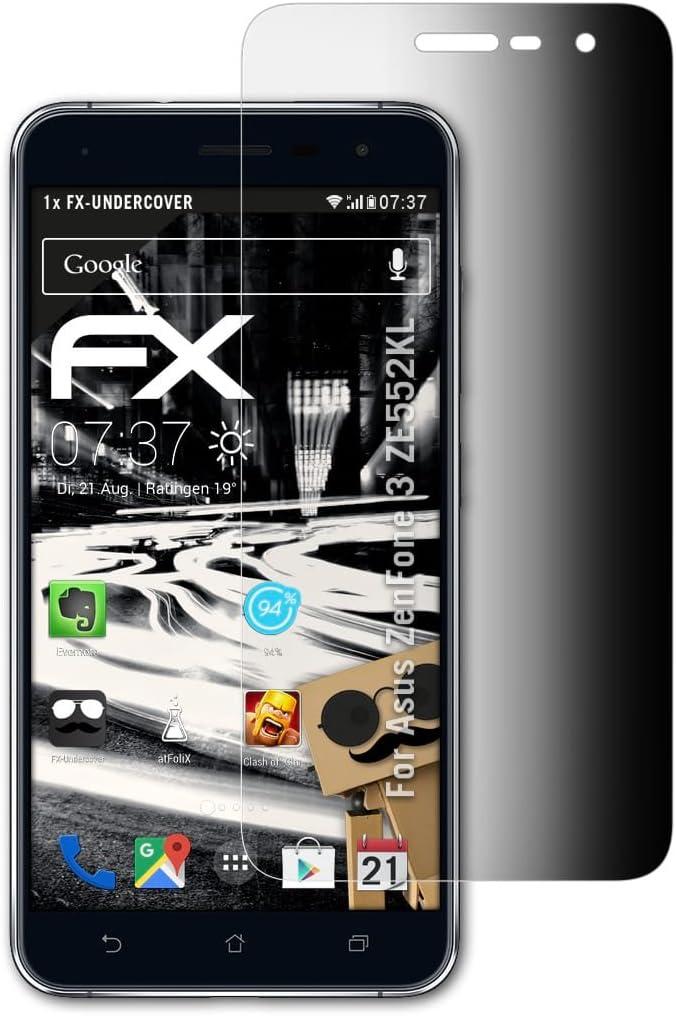 atFoliX Filtro de Privacidad para ASUS ZenFone 3 ZE552KL Película ...