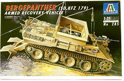 タミヤ イタレリ 285 1/35 ドイツ戦車回収車ベルゲパンサー プラモデル