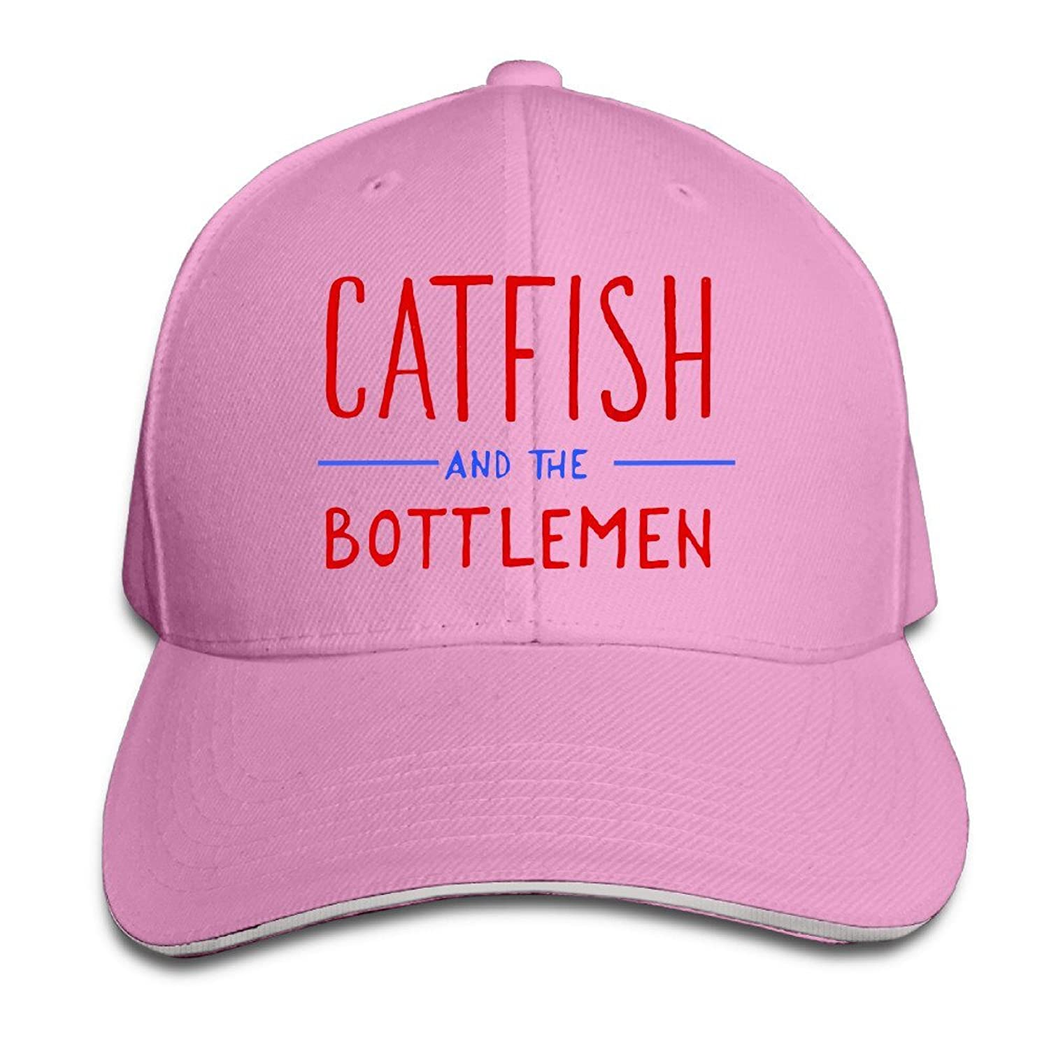 Catfish And The Bottlemen Logo Unisex 100% Cotton Adjustable Baseball Caps Natural One Size