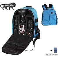 Brain Freezer J Lightweight Camera Backpack Bag for DSLR/SLR Camera Lens (Exotic Blue)